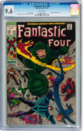 Silver Age (1956-1969):Superhero, Fantastic Four #83 (Marvel, 1969) CGC NM+ 9.6 White pages....
