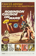 "Movie Posters:Science Fiction, Robinson Crusoe on Mars (Paramount, 1964). One Sheet (27"" X 41"")....."
