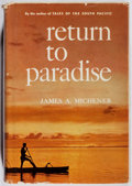 Books:Non-fiction, James Michener. Return to Paradise. Random House, [1951]. First printing. Slight edge wear to boards and clipped jac...
