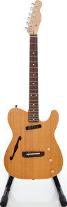Musical Instruments:Electric Guitars, 1990s Fender Telecaster Natural Solid Body Electric Guitar....
