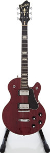 Musical Instruments:Electric Guitars, 1980s Hagstrom Super Swede Cherry Solid Body Electric Guitar....
