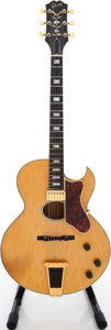 Musical Instruments:Electric Guitars, 1976 Gibson Howard Roberts Artist Blonde Archtop Electric Guitar,Serial # 06188414....
