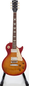 Musical Instruments:Electric Guitars, 1993 Gibson Les Paul Standard Sunburst Solid Body Electric Guitar,Serial # 90753455. ...