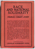 Books:Non-fiction, [White Supremacy]. Charles Conant Josey. Race and National Solidarity. Charles Scribner's, 1923. First edition. Jack...