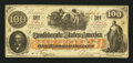 Confederate Notes:1862 Issues, CT41/315a Counterfeit $100 1862.. ...