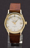 Timepieces:Wristwatch, Omega Constellation Automatic 14k Gold Chronometer Wristwatch. ...