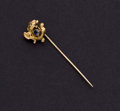 Estate Jewelry:Stick Pins and Hat Pins, Montana Sapphire & 14k Gold Stickpin, Whiteside & Blank....