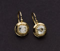Estate Jewelry:Earrings, Victorian Assembled Diamond & Gold Earrings. ...