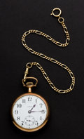 Timepieces:Pocket (post 1900), Illinois 17 Jewel Wolverine 16 Size Pocket Watch. ...