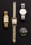 Timepieces:Wristwatch, Four Longines Wristwatches. ... (Total: 4 Items)