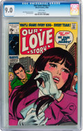 Silver Age (1956-1969):Romance, Our Love Story #1 (Marvel, 1969) CGC VF/NM 9.0 White pages....