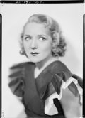 """Movie Posters:Miscellaneous, Mary Pickford by Russell Ball (1933). Eastman Kodak NitrateNegative (4.75"""" X 6.75""""). Miscellaneous.. ..."""