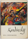 Books:Art & Architecture, Will Grohmann. Wassily Kandinsky. Abrams, 1958. First edition, first printing. Toning and light foxing. Leaning. Col...