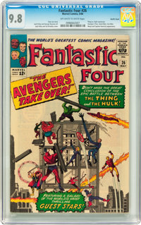 Fantastic Four #26 Pacific Coast pedigree (Marvel, 1964) CGC NM/MT 9.8 Off-white to white pages