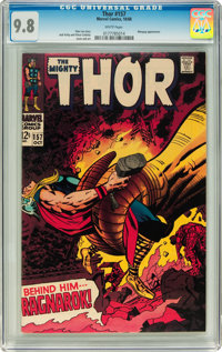 Thor #157 (Marvel, 1968) CGC NM/MT 9.8 White pages