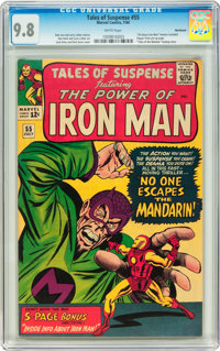 Tales of Suspense #55 Northland pedigree (Marvel, 1964) CGC NM/MT 9.8 White pages