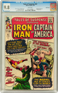 Silver Age (1956-1969):Superhero, Tales of Suspense #61 Pacific Coast pedigree (Marvel, 1965) CGC NM/MT 9.8 White pages....