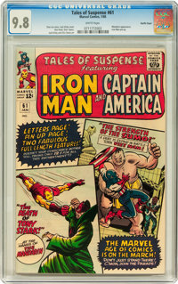 Tales of Suspense #61 Pacific Coast pedigree (Marvel, 1965) CGC NM/MT 9.8 White pages