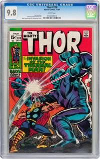 Thor #170 (Marvel, 1969) CGC NM/MT 9.8 White pages