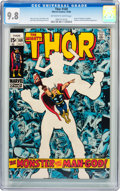 Silver Age (1956-1969):Superhero, Thor #169 (Marvel, 1969) CGC NM/MT 9.8 Off-white to white pages....