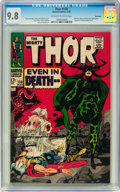 Silver Age (1956-1969):Superhero, Thor #150 Northland pedigree (Marvel, 1968) CGC NM/MT 9.8 Off-whiteto white pages....