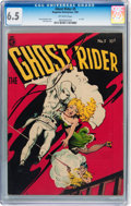 Golden Age (1938-1955):Western, Ghost Rider #5 (Magazine Enterprises, 1951) CGC FN+ 6.5 Off-whitepages....