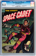 Golden Age (1938-1955):Science Fiction, Tom Corbett Space Cadet #9 (Dell, 1954) CGC VF+ 8.5 Cream tooff-white pages....