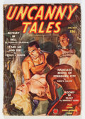 Pulps:Horror, Uncanny Tales April '39 (Red Circle, 1939) Condition: GD/VG....