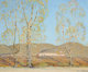 VICTOR HIGGINS (American, 1884-1949) November -Country Landscape, circa 1920 Oil on canvas 25 x 30 inches (63.5 x 76