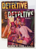 Pulps:Detective, Spicy Detective Stories Group (Culture, 1936-37) Condition: Average VG.... (Total: 2 Items)