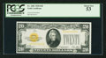 Small Size:Gold Certificates, Fr. 2402 $20 1928 Gold Certificate. PCGS About New 53.. ...