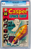 Bronze Age (1970-1979):Cartoon Character, Casper Spaceship #1 File Copy (Harvey, 1972) CGC NM+ 9.6 Off-whiteto white pages....