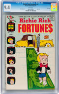 Bronze Age (1970-1979):Humor, Richie Rich Fortunes #1 File Copy (Harvey, 1971) CGC NM 9.4 Whitepages....