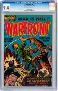 Golden Age (1938-1955):War, Warfront #8 File Copy (Harvey, 1952) CGC NM 9.4 Cream to off-whitepages....