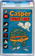 Bronze Age (1970-1979):Cartoon Character, Casper Spaceship #4 File Copy (Harvey, 1973) CGC NM+ 9.6 Off-whiteto white pages....