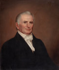 Fine Art - Painting, American:Other , Attributed to BENJAMIN FRANKLIN MASON (American, 1804-1871).Senator Horatio Seymour, Vermont. Oil on canvas. 30-1/4 x2...
