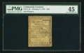 Colonial Notes:Continental Congress Issues, Continental Currency February 17, 1776 $1/6 PMG Choice ExtremelyFine 45.. ...