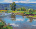 Fine Art - Painting, American:Contemporary   (1950 to present)  , KEVIN MACPHERSON (American, b. 1956). Yampa River (SteamboatSprings, Colorado). Oil on canvas. 16 x 20 inches (40.6 x 5...
