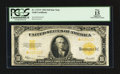 Large Size:Gold Certificates, Fr. 1173* $10 1922 Gold Certificate Star PCGS Apparent Fine 15.. ...