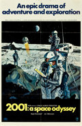 "Movie Posters:Science Fiction, 2001: A Space Odyssey (MGM, 1968). One Sheet (27"" X 41"") Style B....."