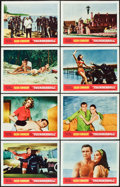 "Movie Posters:James Bond, Thunderball (United Artists, 1965). Lobby Card Set of 8 (11"" X 14"").. ..."