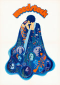 """Movie Posters:Rock and Roll, Woodstock (Warner Brothers, 1970). German A2 (16.5"""" X 23.5"""").. ..."""