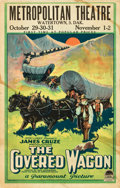 "Movie Posters:Western, The Covered Wagon (Paramount, 1923). Window Card (14"" X 22"").. ..."