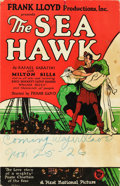 "Movie Posters:Swashbuckler, The Sea Hawk (First National, 1924). Window Card (13.5"" X 22"")....."