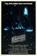 "Movie Posters:Science Fiction, The Empire Strikes Back (20th Century Fox, 1980). One Sheet (27"" X41"") Advance.. ..."
