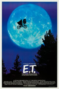 "Movie Posters:Science Fiction, E.T. The Extra-Terrestrial (Universal, 1982). One Sheet (27"" X40.5"") Bicycle Style.. ..."