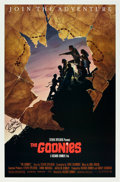 "Movie Posters:Adventure, The Goonies (Warner Brothers, 1985). Autographed One Sheet (27"" X41"") Style B. From the collection of the late John L. Wi..."