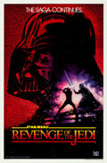 "Movie Posters:Science Fiction, Revenge of the Jedi (20th Century Fox, 1982). One Sheet (27"" X 41"")Undated Advance Style.. ..."