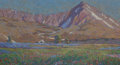 Fine Art - Painting, American:Contemporary   (1950 to present)  , CHRIS BURGESON (American, 20th Century). Altitude. Pastel onboard. 13-1/4 x 24-1/2 inches (33.7 x 62.2 cm). Signed lowe...