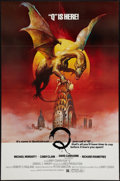 "Movie Posters:Horror, Q (United Film Distribution, 1982). One Sheets (2) (27"" X 41"" and28"" X 40"") Advance and Regular. Horror.. ... (Total: 2 Items)"
